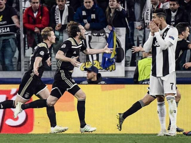 Ajax Stun Cristiano Ronaldos Juventus To Reach Champions League Semis