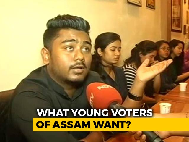 Video : In Assam, Young Voters Say Citizenship Bill, Infra Development Key Issues