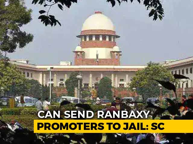 "Video : ""Will Send You To Jail,"" Ranbaxy Singh Brothers Told By Court"