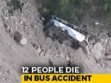 Video : At Least 12 Dead After Bus Falls Into Gorge In Himachal's Chamba District