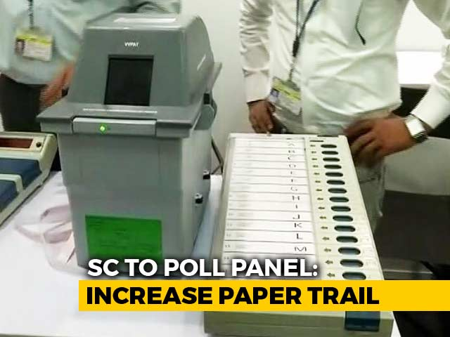 Video : More Paper Trail Machines To Be Used In Polls On Supreme Court's Order
