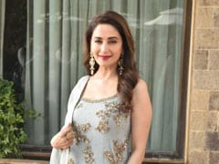 For Your Next Summer Wedding, Take Notes From Madhuri Dixit In A Pastel <i>Sharara</i>. 8 Pretty Options