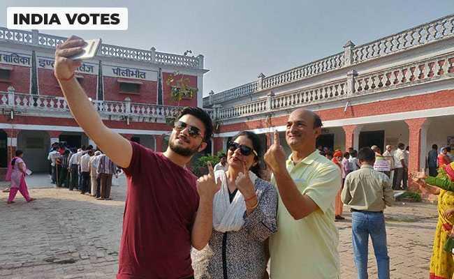 43.85% Voter Turnout In 7 Madhya Pradesh Lok Sabha Seats Till 2 PM