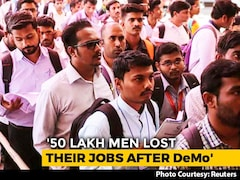 Video: 50 Lakh Lost Jobs Over 2 Years, Trend Began Just After Notes Ban: Report
