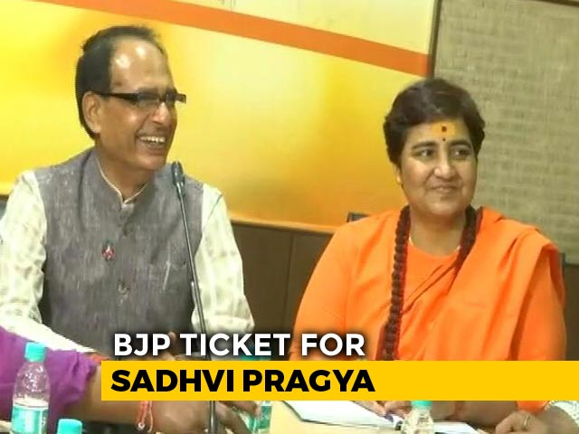 Video : BJP Fields Malegaon Accused Sadhvi Pragya vs Digvijaya Singh In Bhopal