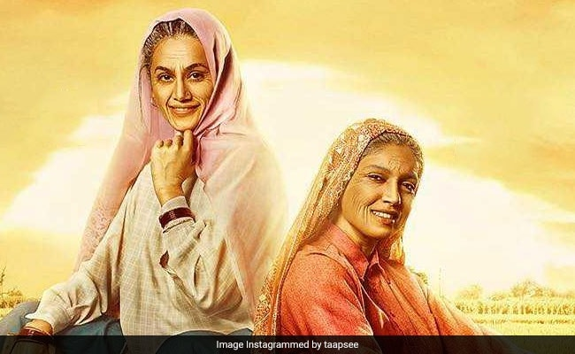 Saand Ki Aankh New Poster: Presenting Taapsee Pannu And Bhumi Pednekar As The 'Shooter Dadis Of India'