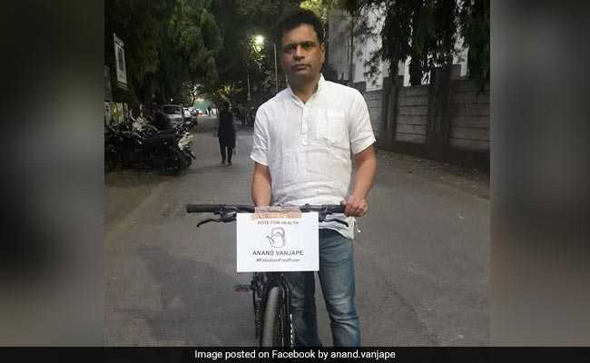 Elections 2019: Pune Candidate, With Agenda To Rid City Of Pollution, Cycles 60 km Daily