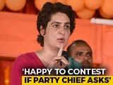 Video : On Varanasi Contest, Priyanka Gandhi Lobs Ball In Brother's Court
