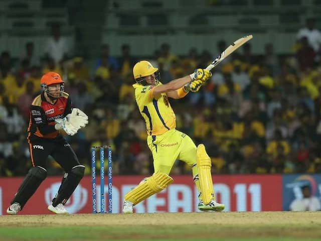 Shane Watson Impresses With Big Hits In Chennai Super Kings Nets Ahead Of Mumbai Indians Clash