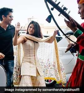 Samantha Posts New Pics From Aashritha's Wedding. Bonus: Naga Chaitanya