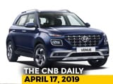 Video : Hyundai Venue Revealed, Renault Triber, KTM Price Hike