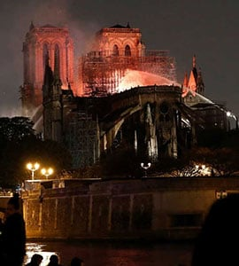 As Flames Engulfed Notre-Dame, Firefighters Employed A Secret Weapon