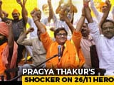 "Video : Sadhvi Pragya's Remark On 26/11 Hero Hemant Karkare ""Insulting"": IPS Body"