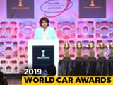 Video : 2019 World Car Of The Year Awards