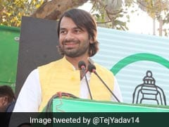 Tej Pratap Campaigns Against Father-In-Law Chandrika Rai In Bihar