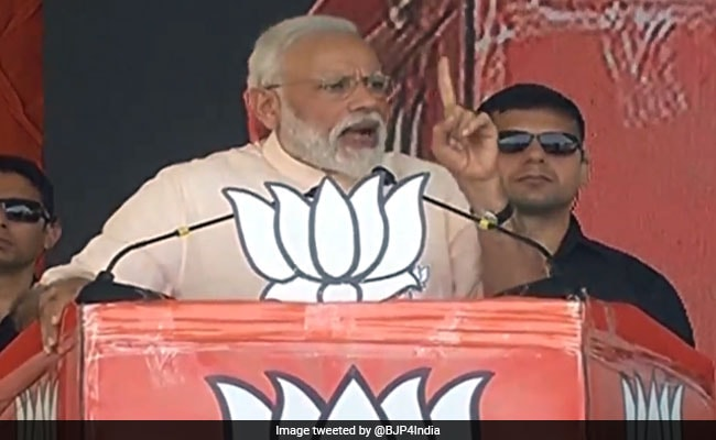 Congress Manifesto A Document Of Pakistan's Conspiracies: PM Modi