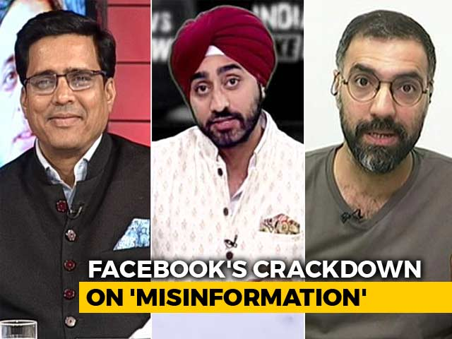 Video : Pages Linked To BJP Hit By Facebook Crackdown?