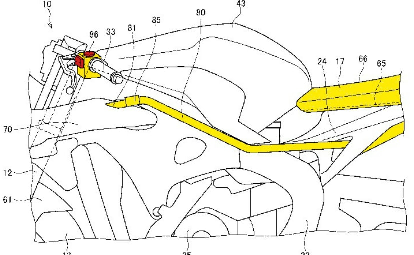Honda has filed patents for a climate-controlled motorcycle seat technology