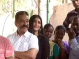 Video: ভোট দিতে গেলেন কমল হাসান