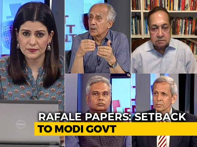 Video : Supreme Court To Examine 'Stolen' Rafale Papers: Setback For BJP?