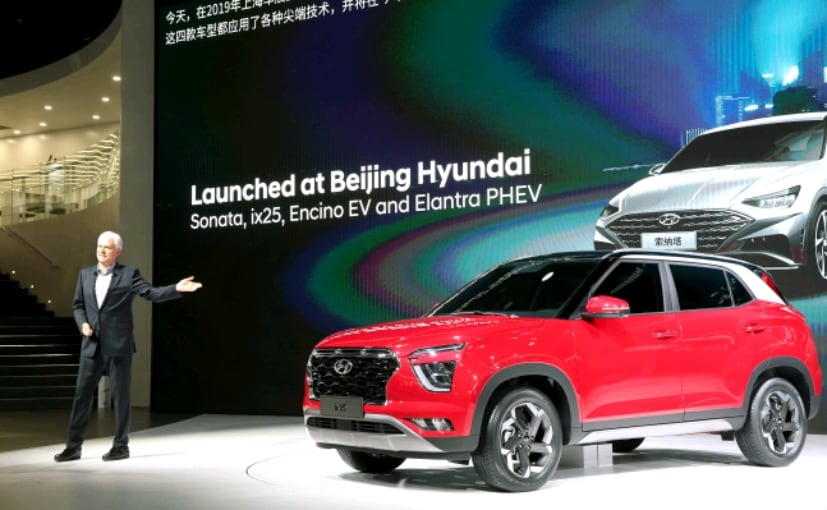 2019 Shanghai Motor Show: Second Generation Hyundai Creta Previewed With ix25 SUV