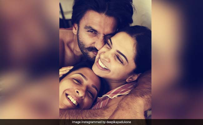 Deepika Padukone's 'Cuddles And Snuggles' Pic With Ranveer Singh, Anisha Padukone Is All Heart