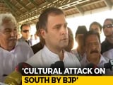 "Video : ""Won't Say A Word Against CPM"": Rahul Gandhi In Wayanad"