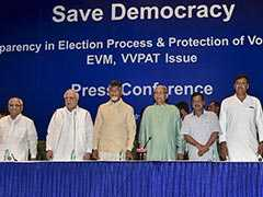Opposition Renews Attack Over EVMs, Wants 50% Paper Trail Verification