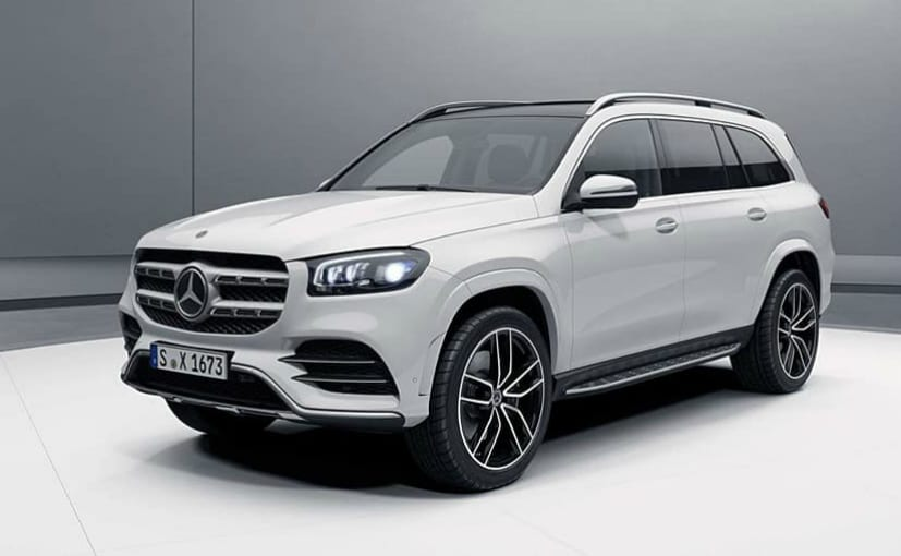 2020 Mercedes-Benz GLS Photos Leaked Ahead Of New York Auto Show Debut