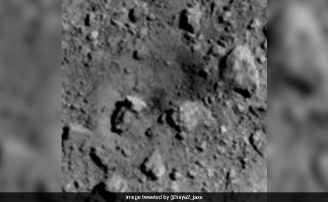 Japan Creates First Artificial Crater On Asteroid