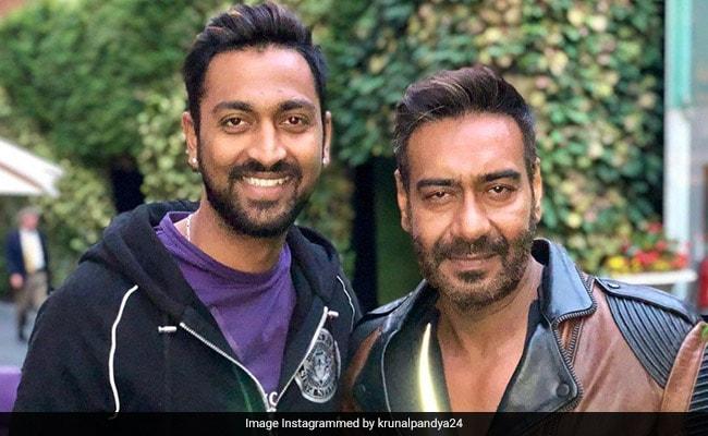 Mumbai Indians के क्रिकेटर क्रुणाल पांड्या ने अजय देवगन को किया बर्थडे विश तो 'सिंघम' ने दे डाला ये ऑफर