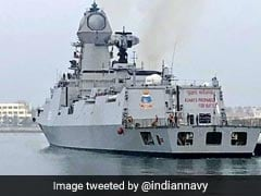 Pak Skips China Navy Fleet Review, Indian Battle Ships Participate