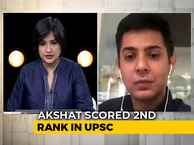 Video : How Akshat Jain, Second Rank In UPSC Exam, Prepared For The Test