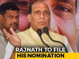 Video: As BJP's Rajnath Singh Files Poll Papers In Lucknow, No Rival Yet