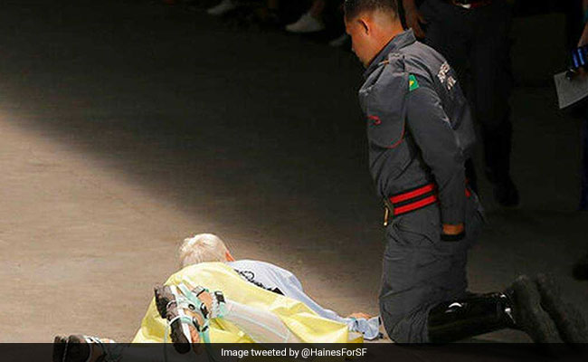 Brazilian male model dies while strutting on catwalk