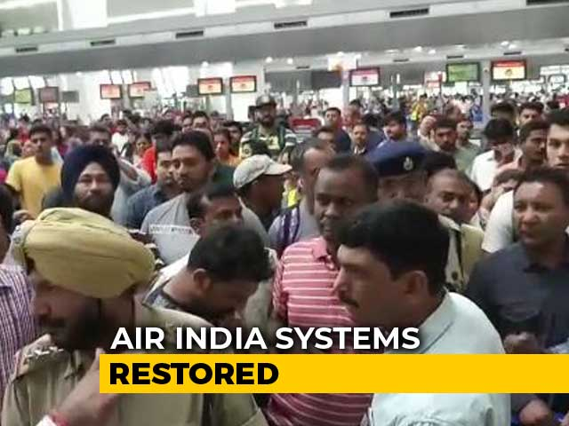 Video : Air India Operations Affected Globally After Server Problem For Hours