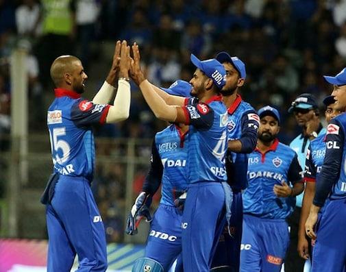 IPL 2019 DC vs MI Live Cricket Score