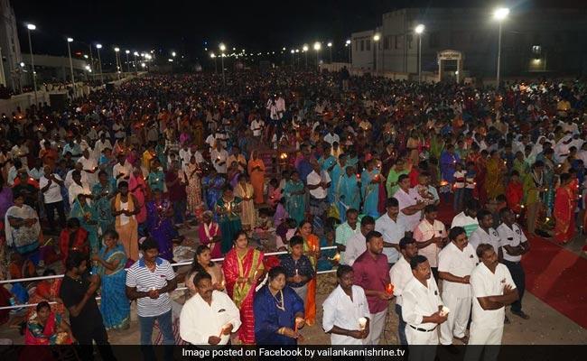 Thousands Reach Shrine Basilica In Tamil Nadu For Easter Celebrations