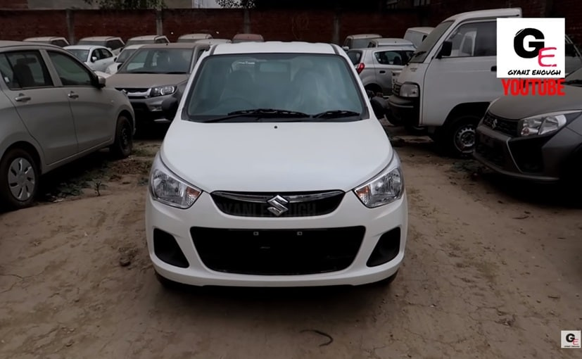 Visually, the 2019 Maruti Suzuki Alto K10 remains identical to the previous version