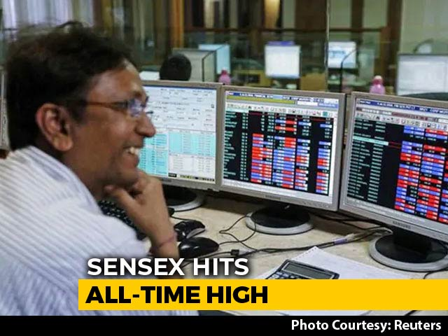 Video : Sensex Hits 39,000 For The First Time Ever