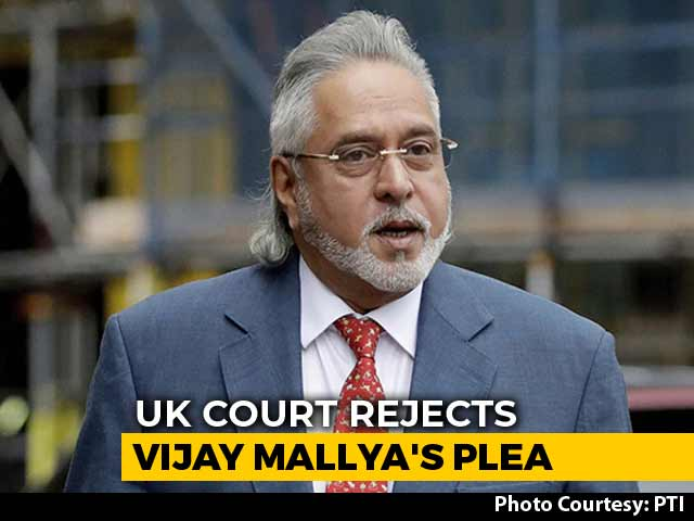Video : Vijay Mallya Appeal Against UK Extradition Rejected, Verbal Hearing Next