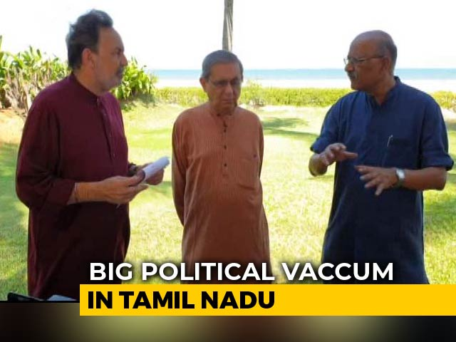 Video : Who Will Fill Tamil Nadu's Political Vacuum? Watch Prannoy Roy's Analysis