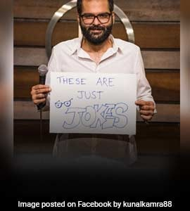 Comedian Kunal Kamra Laughs Off BSE's Bearish Assessment On 'Fake' Pic