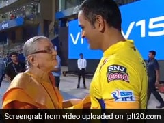 MS Dhoni Meets Special Fan After CSK vs Mumbai Indians Match - Watch