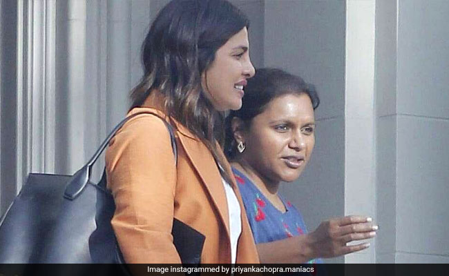 Fans Hope For Priyanka Chopra And Mindy Kaling Collaboration After These Viral Pics