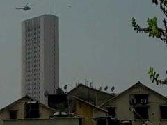 Spectators Gape As Chopper, Commandos Descend On Mumbai RBI Building