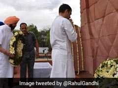 """Can't Forget Cost Of Freedom"": Rahul Gandhi At Jallianwala Memorial"