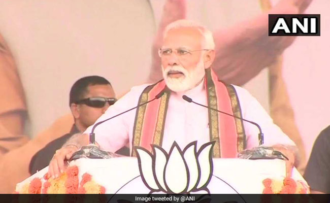 Congress-JDS And Parties Alike, Believe In 'Pariwarwad': PM Modi