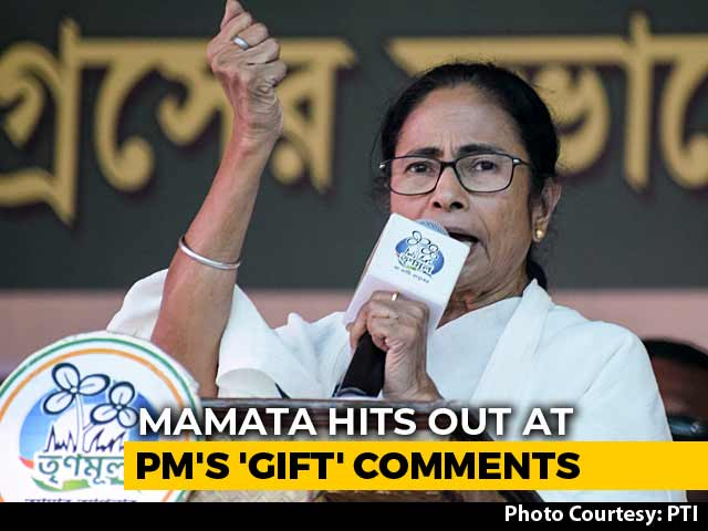 Video : Mamata Banerjee Promises <i>Rosogullas</i> For PM, But There's A Twist