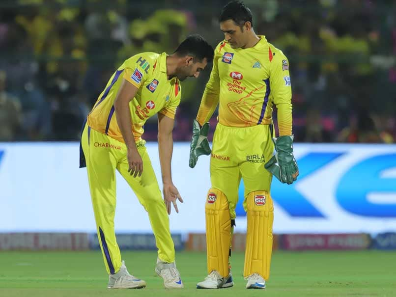 """Watch: MS Dhoni Convinced By Deepak Chahar To Take DRS """"In Nick Of Time"""""""